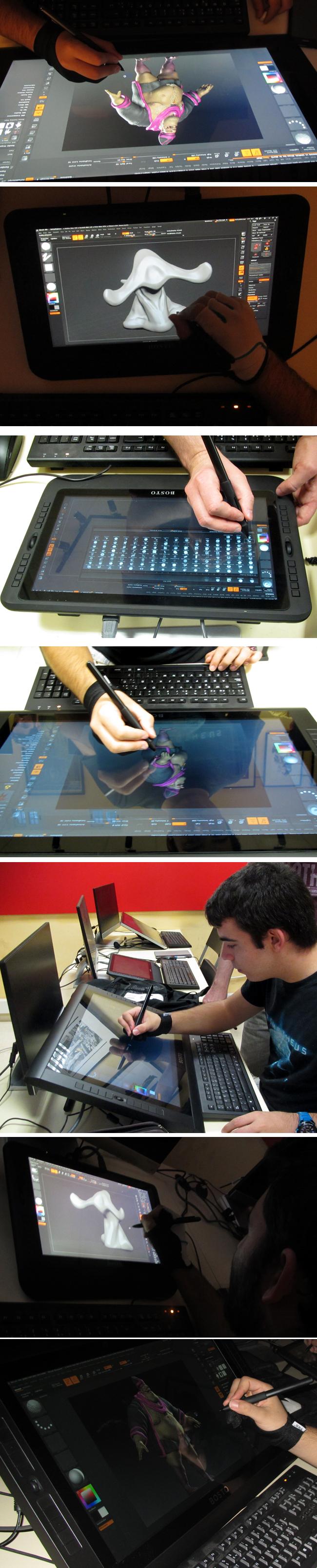 academia c10_monitores interactivos_bosto_dibujo digital_arte digital_cursos de arte dibital_zbrush