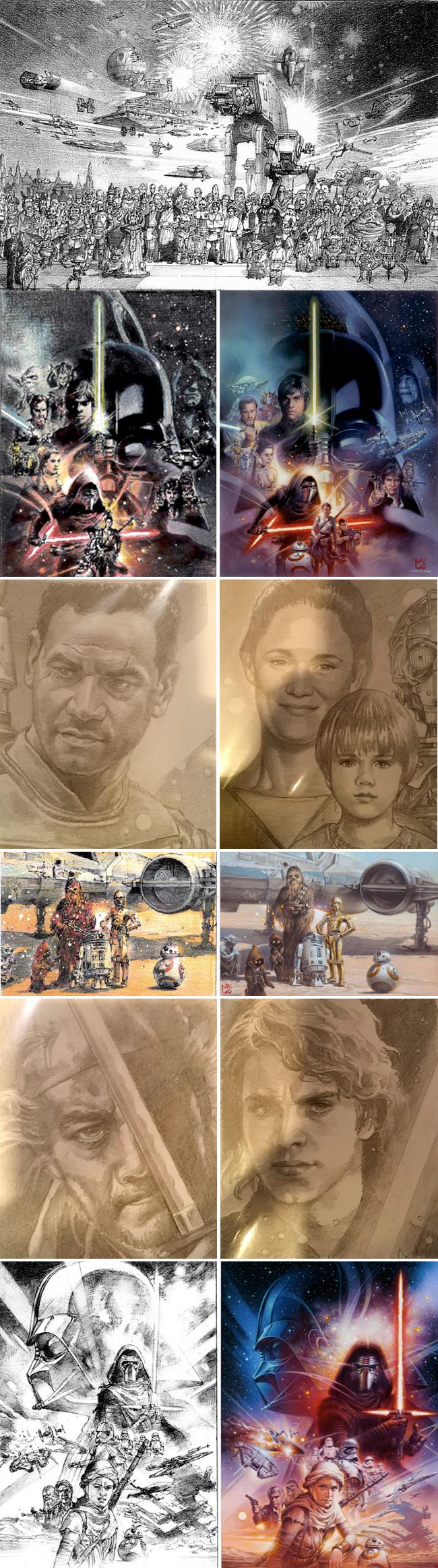 Tsuneo Sanda_Academia C10_Carlos Diez_Star Wars_Clases_Dibujo_Expocomic-Bocetos-Cursos