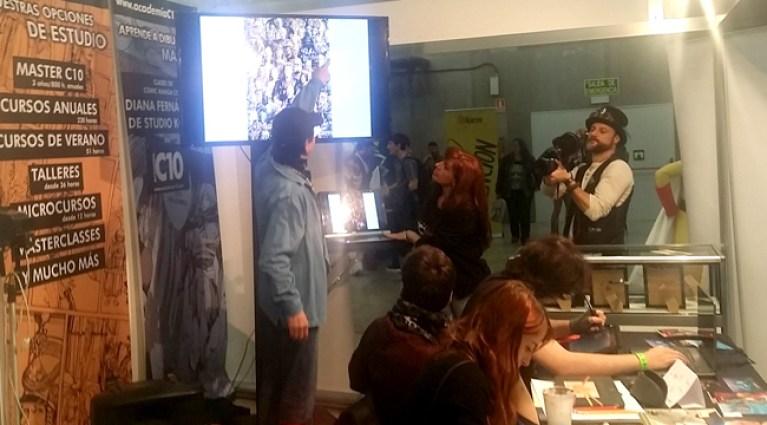 Tsuneo Sanda en Academia C10, Curso, cursos, Masterclass de dibujos de Star Wars Comic e ilustración.