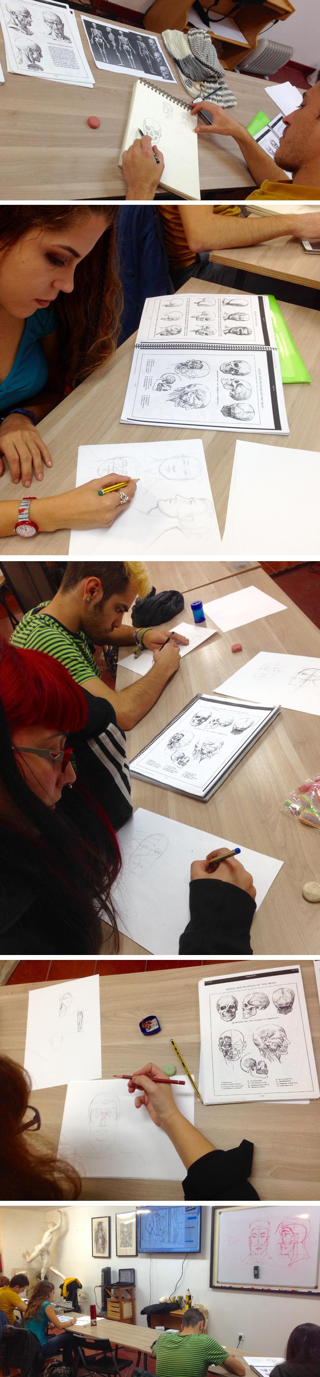 curso_dibujo_profesional_alumnos_dibujando_trabajos_cabezas_pies_manos_academiac10