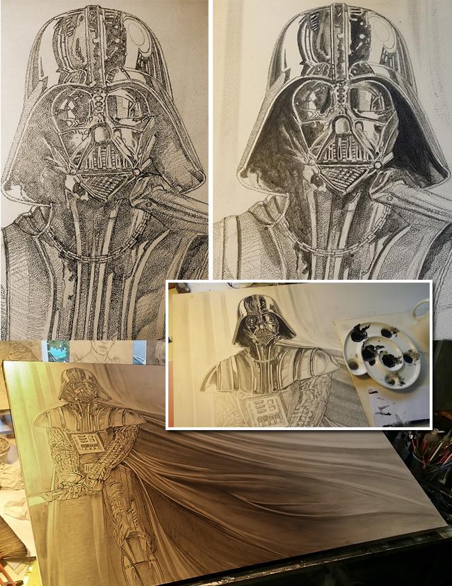 Darth-Vader-Ilustracion-Carlos-Díez