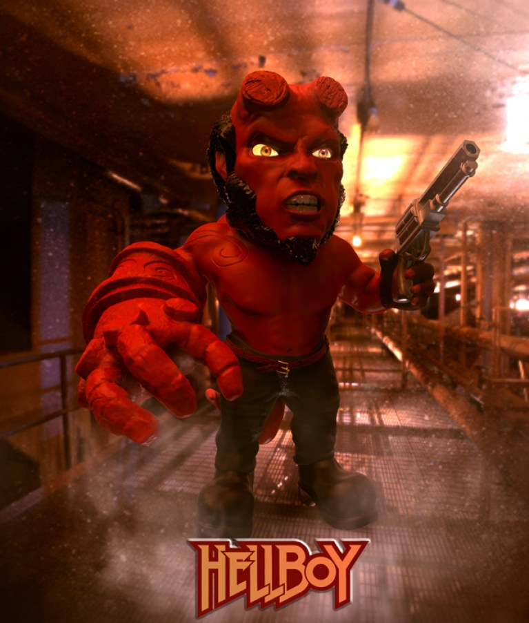 curso-arte-digital-zbrush-photoshop-academiac10-madrid-hellboy
