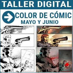 Taller digital: Coloreado digital de comic