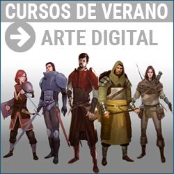 Curso de verano de Arte digital y diseno para videojuegos