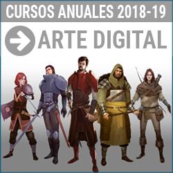 Curso de Arte digital y diseno para videojuegos