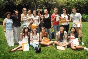 Group at graduation day in Coronado