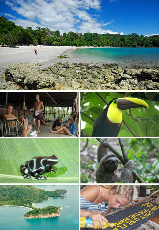 Volunteering in Manuel Antonio National Park, Costa Rica