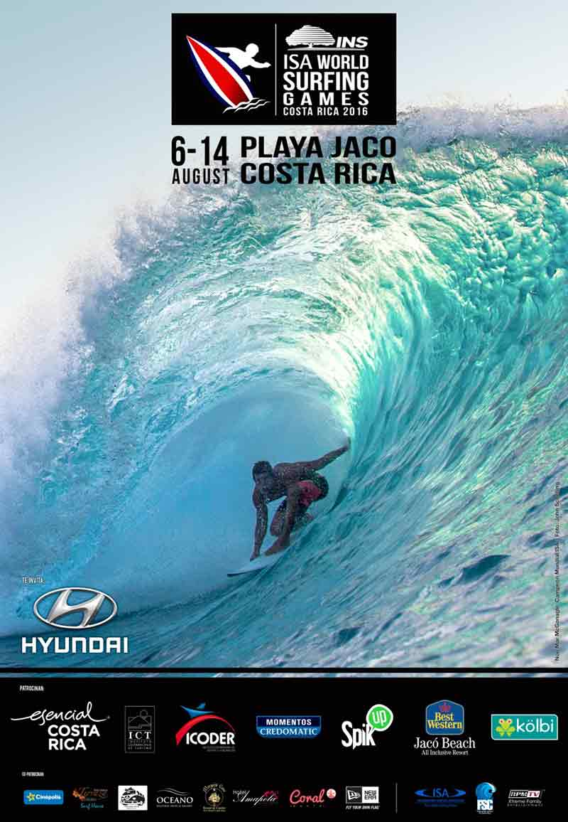 ISA World Surfing Games 2016 in Jacó Beach
