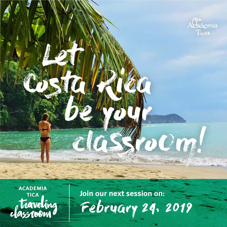 Next session of our Travelling Classroom Program
