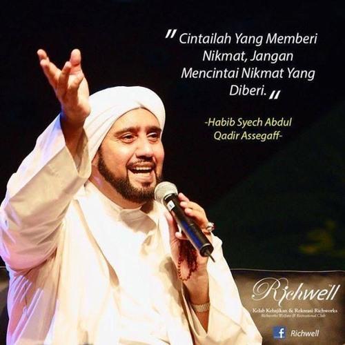 Foto Habib Syech dan wejangannya