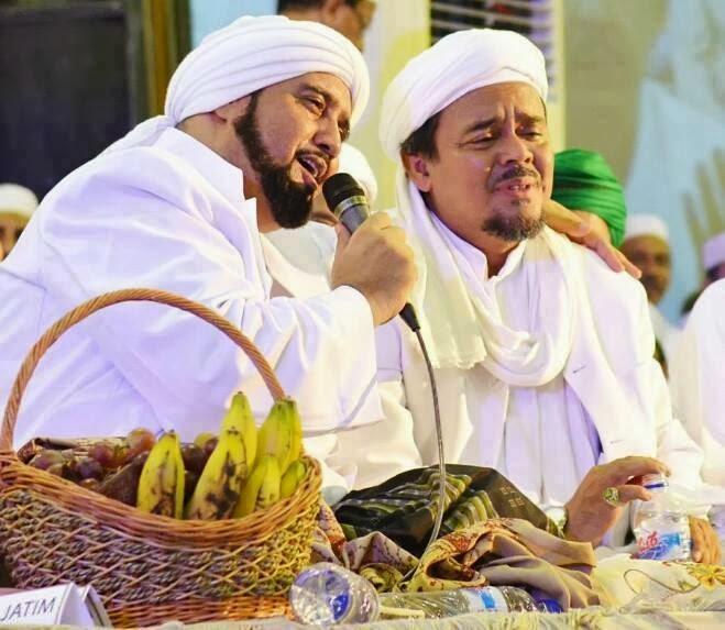 Habib Syech dan Habib Riziq