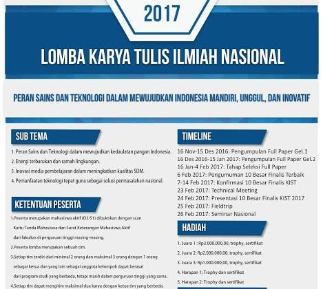 Kalijaga Innovation and Reasearch Competition (KIST) 2nd Hadir Kembali!