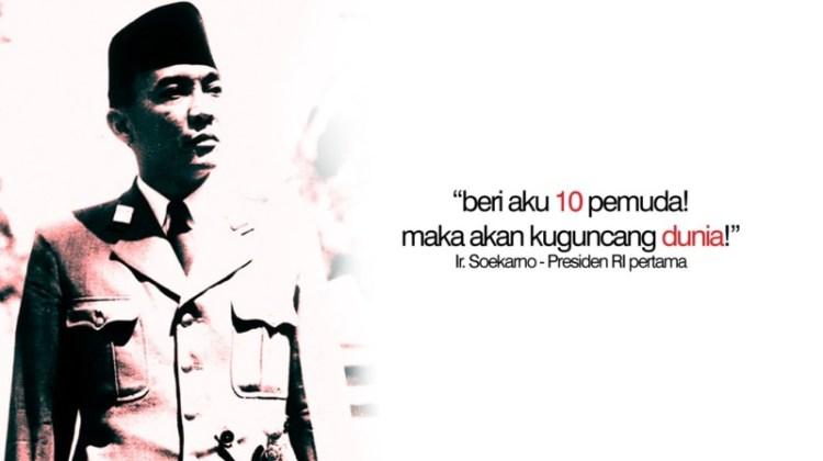 Biografi Singkat Soekarno; Presiden RI Pertama sekaligus Bapak Proklamator