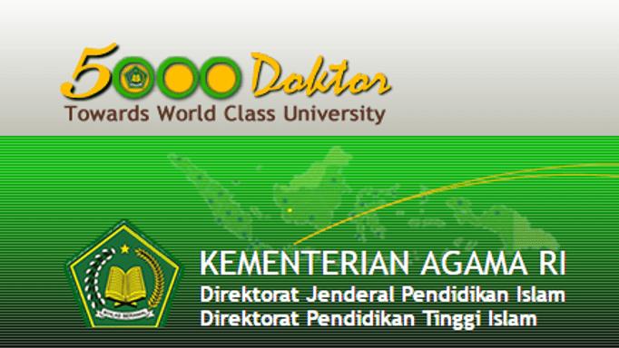 Peluang Beasiswa Kemenag Periode 2017-2018
