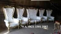 Jual model kursi pengantin pelaminan dari kayu terbaru karya putukretek jepara