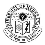 University of Hyderabad needs Field Attender