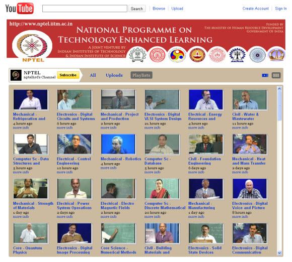 IIT YouTube Videos