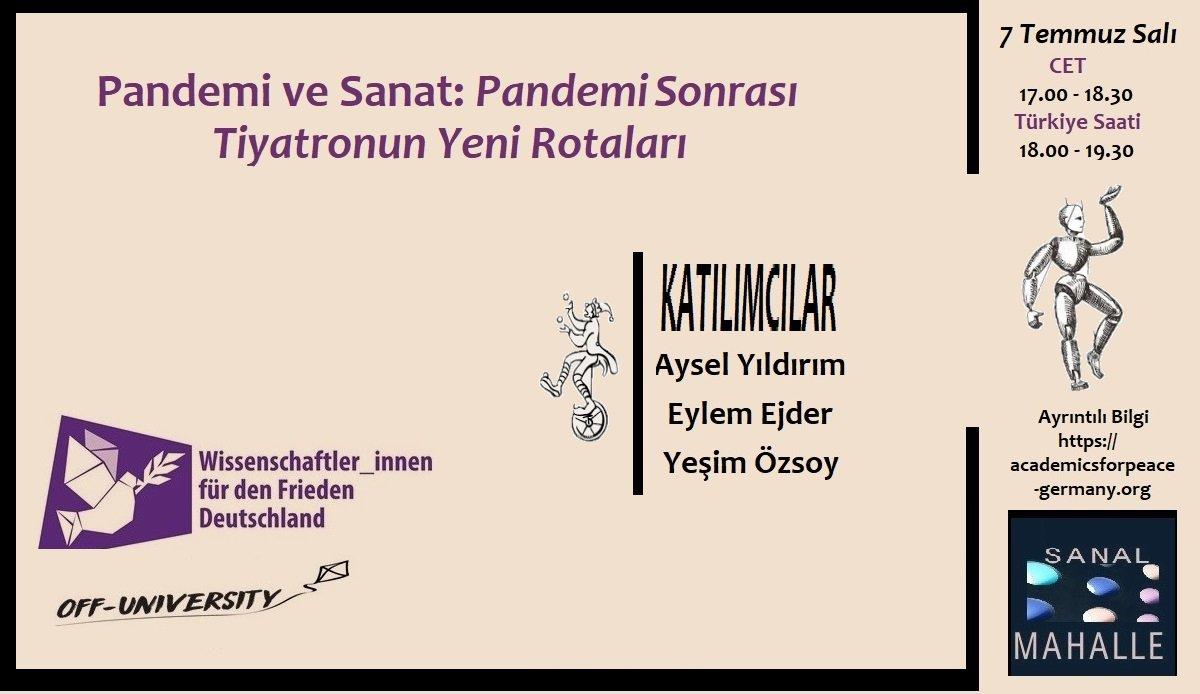 Read more about the article Sanat ve Pandemi: Pandemi Sonrası Tiyatronun Yeni Rotaları