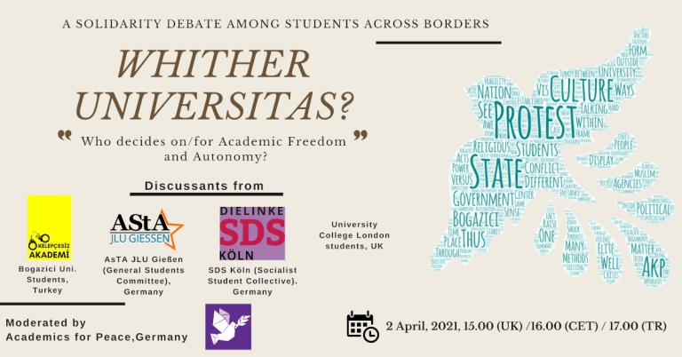 Whither Universitas poster