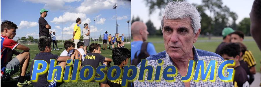 Philosophie des academies de soccer jmg