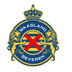 KSK de Beveren logo avec yaya Touré de academie de soccer jmg cote ivoire