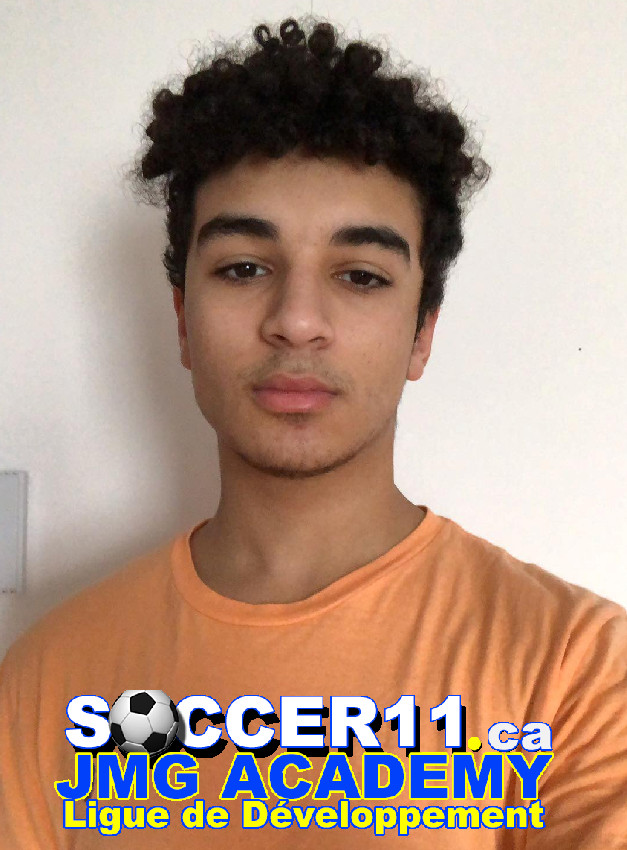 Rayan Rekmouche equipe de soccer11 de JMG