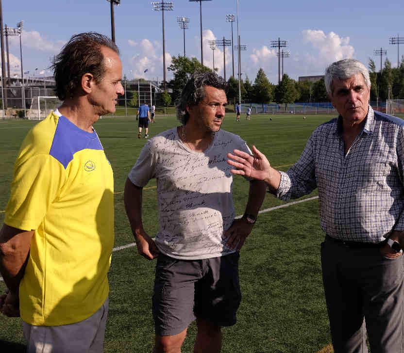 Formateur_consultant_academie de soccer JMG_Andrea Puzo Vincent Dufour JEan MArc Guillou