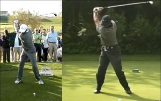 tiger woods face 2001