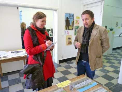 Interview van directeur Philip Boël door Ilse Prinsen van de Gazet van Antwerpen