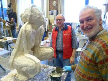 Atelier beeldhouwkunst
