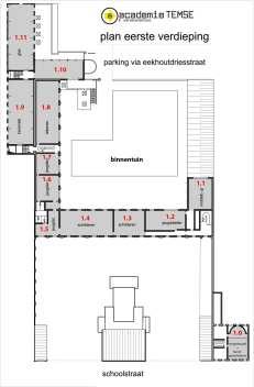 1ste verdieping