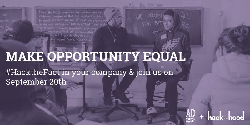 AD2SF Event: Make Opportunity Equal |