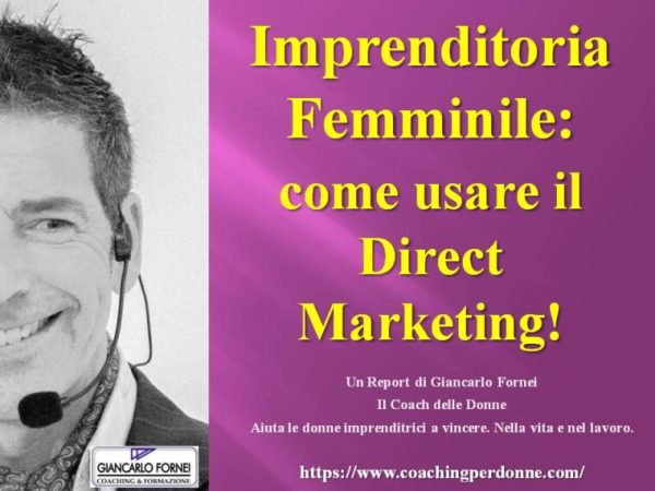 Come usare il Direct Marketing (report)