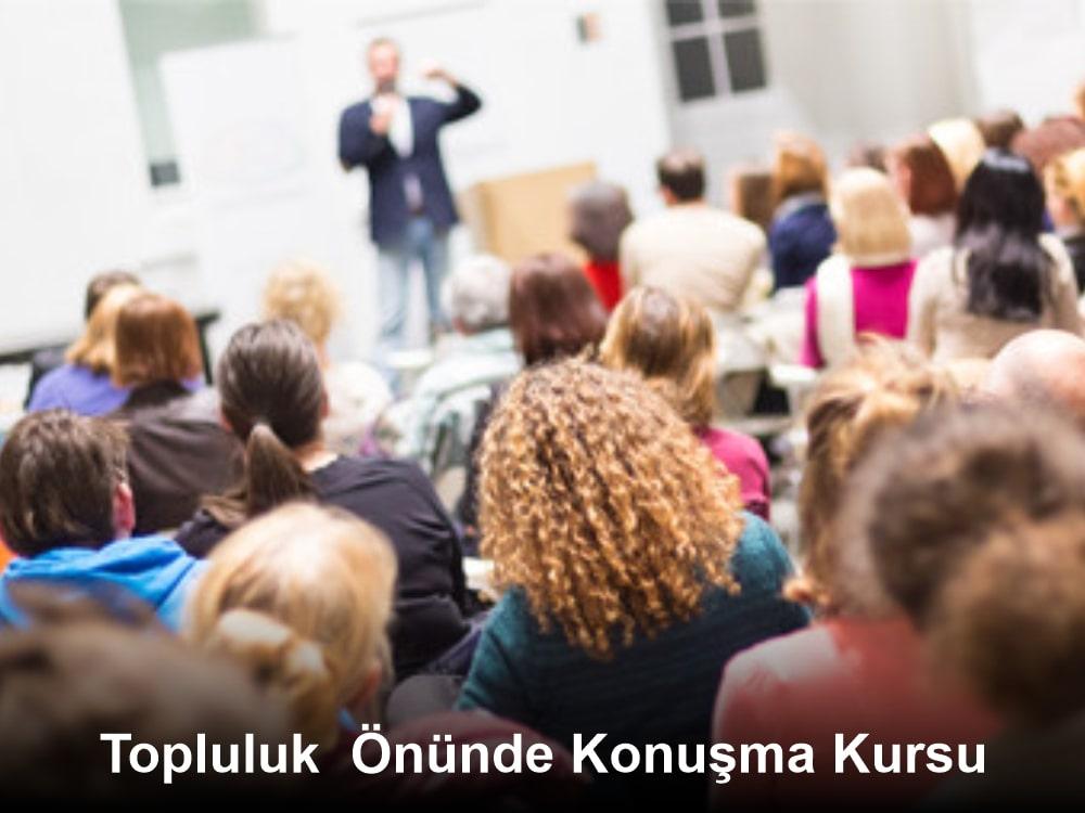 Topluluk Önünde Konuşma Kursu Eğitimi İstanbul