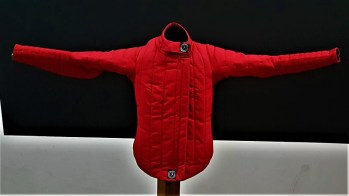 AP jacket red