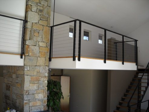 Wrought Iron Rails And Stainless Steel Railings Acadia