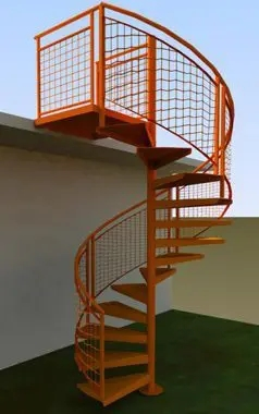 Outdoor Spiral Stairs Exterior Staircases In Ct Nyc Acadia | Outdoor Spiral Staircase Prices | Dipped Galvanized | Stair Treads | Furniture Ideas | Deck | Treads