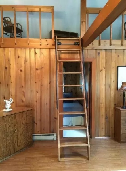 Best Staircases For Small Spaces Acadia Stairs   Staircases For Tight Spaces   Farmhouse   Cool   10 Ft Ceiling   Ladder   Stylish