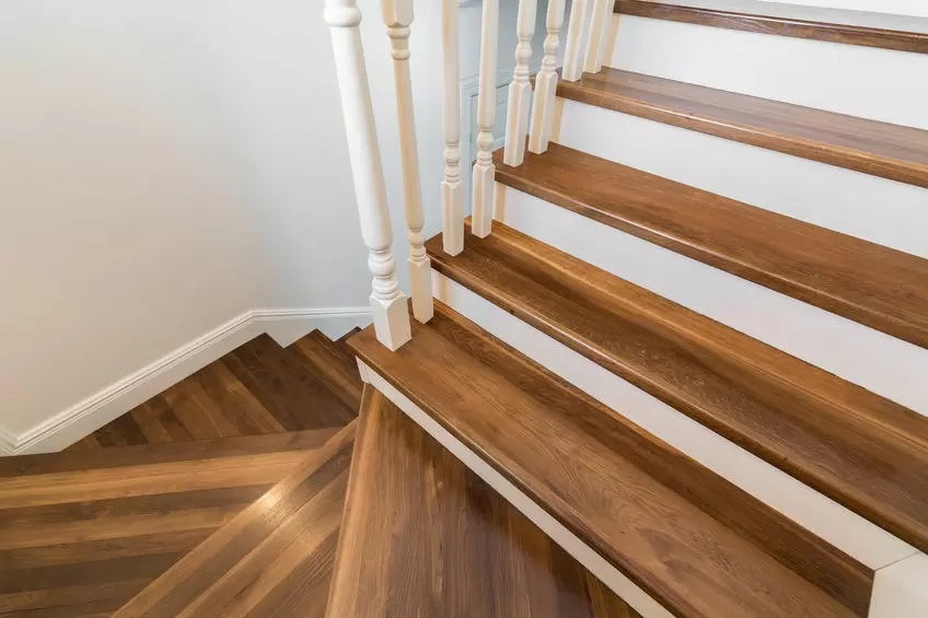 The Best Staircases For Small Spaces Acadia Stairs | Best Stairs For Small Spaces | Real Simple | Clever | Table Convert | Space Saving | Attic
