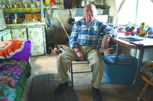 Jackie Vautour a refusé de quitter sa demeure pendant des années, et il a répété souvent qu'il allait continuer sa lutte jusqu'à son dernier souffle. - Archives