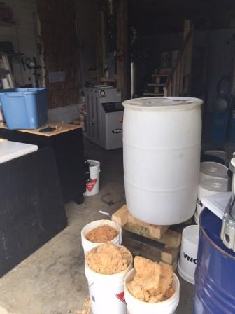 Selon la GRC, les installations du laboratoire démantelé à Lac-Baker étaient très sophistiquées. - Gracieuseté