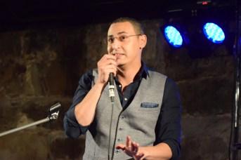 L'humoriste Mouad Loukili en spectacle au Festival Acadie Rock. - Acadie Nouvelle: Sylvie Mousseau