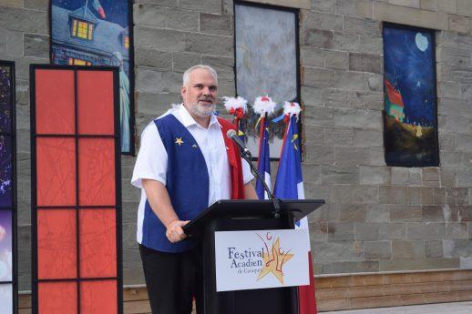Kevin J. Haché, le maire de Caraquet - Acadie Nouvelle: Vincent Pichard