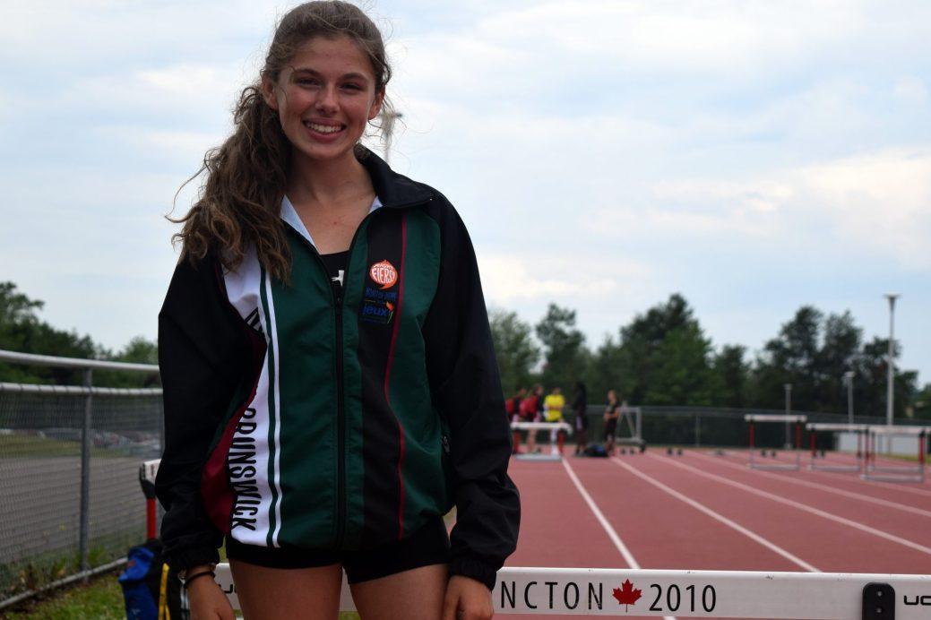 Isabelle Lemaire prendra part aux épreuves de 800m, de 1200m, de 2000m et du triple saut. - Acadie Nouvelle: Steve Lebel