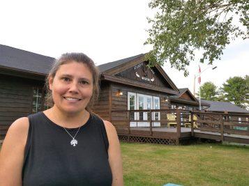 Caroline Lubbe-D'Arcy, militante de Stop Spraying New Brunswick. - Acadie Nouvelle : David Caron