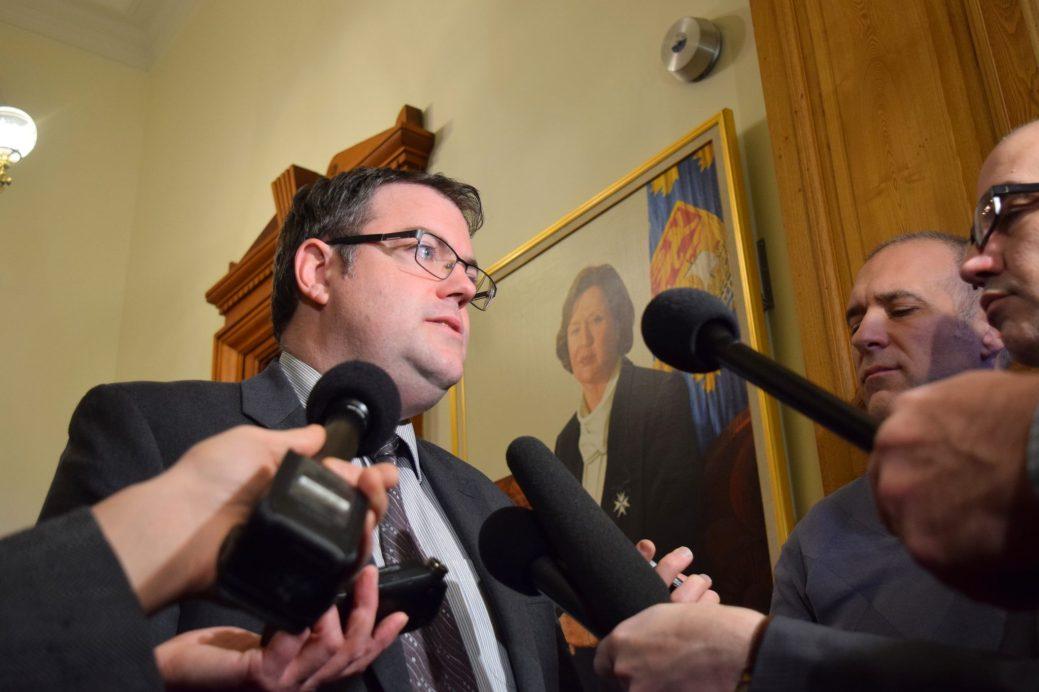 Le ministre de la Santé du Nouveau-Brunswick, Benoît Bourque. - - Archives