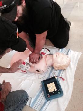 Cours de premiers soins dispensés dans la Péninsule acadienne par la compagnie Prévention Pro. - Gracieuseté