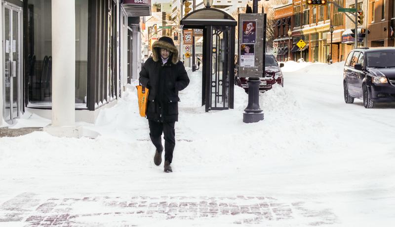 Si, mercredi matin, la Péninsule acadienne se trouvait encore sous le vent et la poudrerie, les conditions étaient plus clémentes à Moncton. - Acadie Nouvelle: Patrick Lacelle