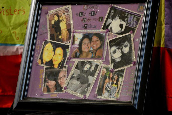 La famille d'Hilary a présenté des photos de l'adolescente pour honorer sa mémoire. - Acadie Nouvelle: Simon Delattre