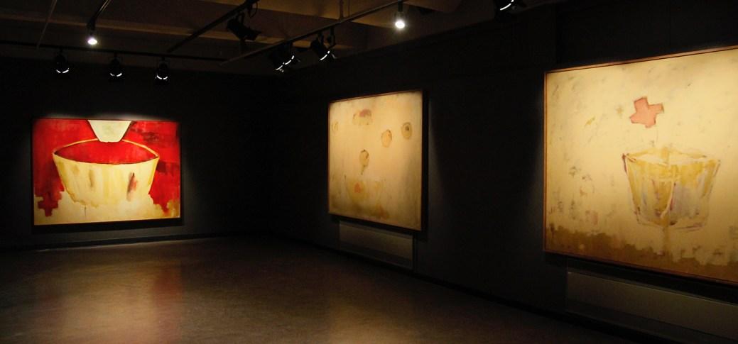 Le 2 février 2018. Quelques oeuvres de Lionel Cormier exposées à la Galerie Bernard-Jean à Caraquet. Gracieuseté